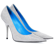 Pumps Slash Heel mit Glitter