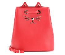 Bucket-Bag Feline aus Leder