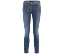 Blå Konst Skinny Jeans Climb Mid Blue