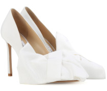 X Off-White Pumps Mary 100 aus Satin