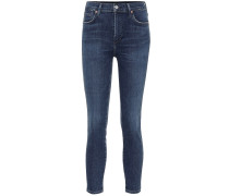 High-Rise Skinny Jeans Rocket