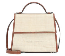 Tote The Small Top Handle mit Leder
