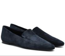 Loafers Minimal aus Veloursleder