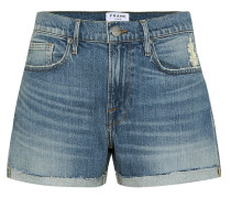 High-Rise Jeansshorts Le Brigette
