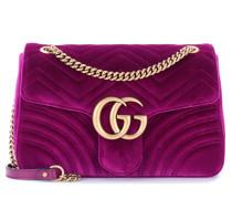 Tasche GG Marmont Medium aus Samt