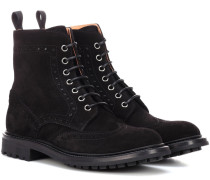 Ankle Boots Angelina aus Veloursleder