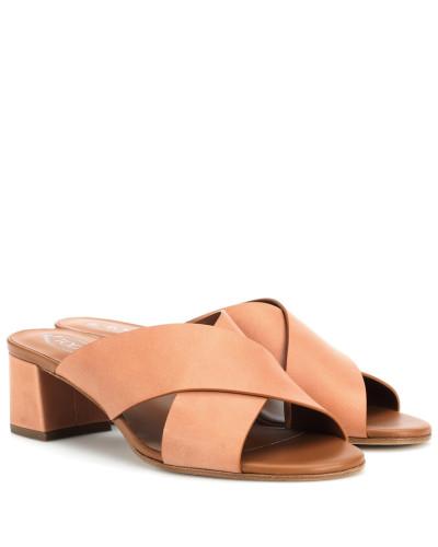 TOD'S Damen Sandalen aus Leder Wirklich Günstig Online Q4Flbw4nd