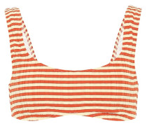 Gestreiftes Bikini-Oberteil Elle