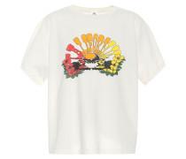 X Hanes T-Shirt aus Baumwolle