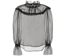 Transparentes Top Georgia aus Organza