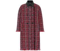 Alexander McQueen Karierter Mantel aus Tweed