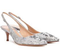 Slingback-Pumps Daze aus Satin