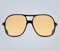 Aviator-Sonnenbrille aus Acetat