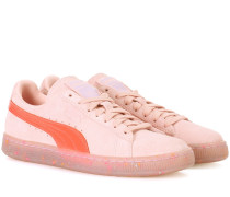X Sofia Webster Sneakers Suede aus Veloursleder