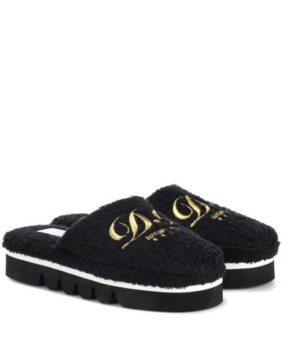 Dolce & Gabbana Damen Slippers aus Frottee Besuch 4dQGN48