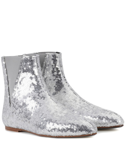 Loewe Damen Ankle Boots mit Pailletten Sehr Billig qGF2bWpZSP