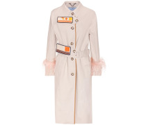 Verzierter Mantel aus Baumwolle