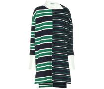 Gestreiftes Oversize-Kleid