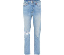 Distressed High-Rise Jeans Kiara