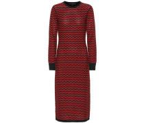 Gemustertes Kleid aus Wolle