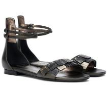 Sandalen aus Leder