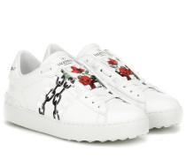 X UNDERCOVER Sneakers aus Leder