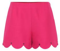 Shorts aus Seide und Wolle