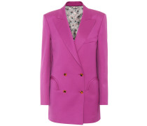 Blazer Puritan Raisin aus Wolle
