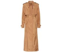 Mantel aus einem Seidengemisch