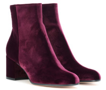 Ankle Boots Margaux Mid aus Samt