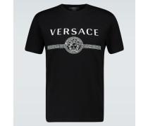 T-Shirt aus Baumwolle mit Logo