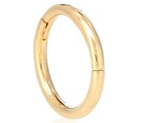 Einzelner Ohrring Clicker aus 14kt Gold