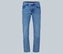 Jeans mit Marble-Waschung