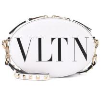 Schultertasche VLTN aus Leder