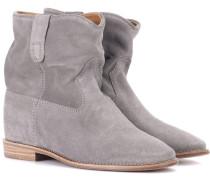 Exklusiv bei mytheresa – Ankle Boots Crisi aus Veloursleder