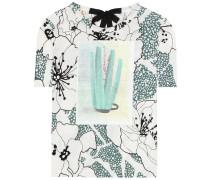 Baumwoll-Shirt mit Print