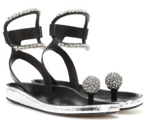 Sandalen Discoball aus Leder