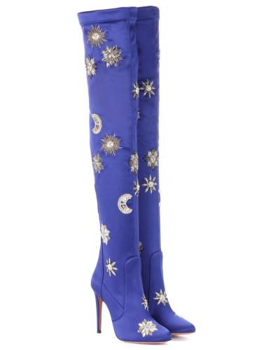 Overknee-Stiefel Dorado 105 aus Satin