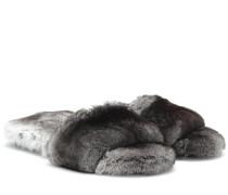 Pantoletten Kruger aus Pelz