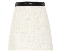 Verzierter Minirock aus Tweed