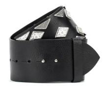Verzierter Gürtel Zony aus Leder