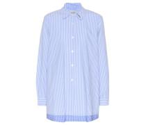 Bedrucktes Bluse aus Baumwolle