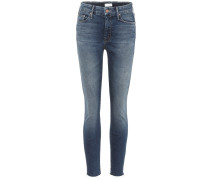 Cropped Jeans The Looker Ankle Fray