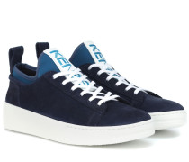 Sneakers K-City aus Veloursleder