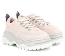 Sneakers Angel aus Veloursleder