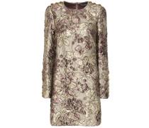 Kleid aus Metallic-Jacquard