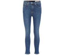 Jeans High Rise Ankle Skinny