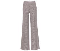 Hose aus Wolle mit weitem Bein