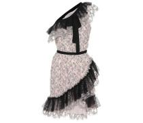 Asymmetrisches Kleid aus Tüll