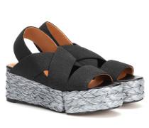Sandalen Ancre aus Raffiabast